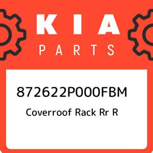 872622P000FBM Kia Coverroof rack rr r 872622P000FBM, New Genuine OEM Part