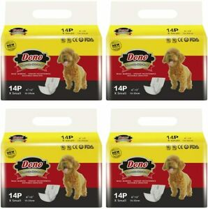 Disposable Dog Diapers Male Dog Wraps Super Absorbent Soft Pet Diapers, Includin
