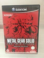 Metal Gear Solid The Twin Snakes-Nintendo Gamecube-Reino Unido PAL-Exc Cond