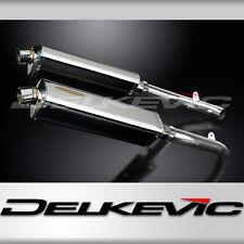 "Honda RVT1000R SP2 17"" Stainless Tri-Oval Muffler Exhaust 02 03 04 05 06 07 08"