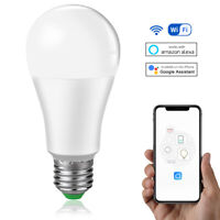 E27/B22 Smart Light Bulbs LED Light Lamp Compatible with Alexa Google Home