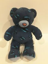 "Build A Bear Superman Man of Steel Plush Blue Bear DC Comics 18"" BAB Toy Stuffed"