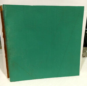LARGE PIECE FENWAY'S GREEN MONSTER LEFT FIELD WALL 1976-2002 RED SOX--BALL DENTS