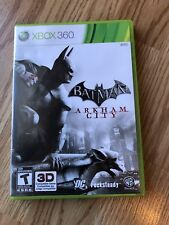 Batman: Arkham City (Microsoft Xbox 360, 2011) Cib Game H3