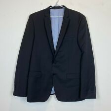 Gibson Lithium F34087 Mens Black 2 Button 100% Wool Suit Jacket RRP$340