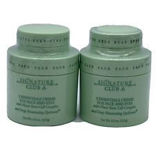 2 Signature Club A 5 Essentials Creme For Face & Eyes w/ Plant Stem Cell Complex