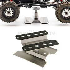 Aluminum Alloy RC Car Stand + Rotating Plate Titanium Gray Color 64-90mm Height