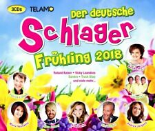 DER DEUTSCHE SCHLAGER FRÜHLING 2018  3 CD NEUF
