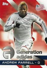 2014 Topps Major League Soccer 'Generation Addidas' Card - Different Variations
