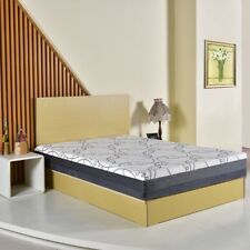 9 Inch Queen Size Washable Soft Fabric Cover Memory Foam Mattress Big Space Nice