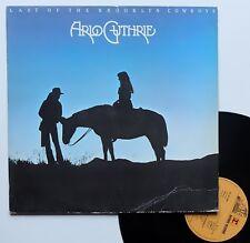 """LP Arlo Guthrie  """"Last of the brooklyn cowboys"""" - (TB/TB)"""