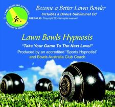 The Best Coaching Lawn Bowling Hypnosis CD Available Bonus Set of Coasters