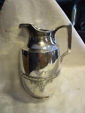 Vintage Manning Bowman Mb Chrome Hotakold bar pitcher cork plug - Ludlot