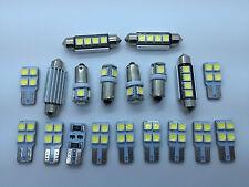 AUDI A4 B6 B7 S4 RS4 SEDAN FULL LED Interior Lights KIT 19 pcs SMD Bulbs White