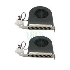 Lot 2X New Computer System Blower Cpu Case Pci Slot Fan Cooler For Desktop PC CA