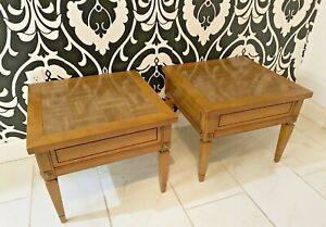 Mid Century Modern MCM Decorative Maple Wood End Table(2 Available)