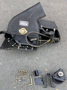 """46"""" John Deere Rear Catcher Blowers Head Unit PWRFLO 46MOW and some mounting ..."""