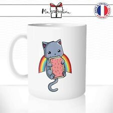 Mug Chat Nyan Cat Tartine Espace- Tasse personnalisée - Idée Cadeau Mugs Café