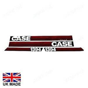 DECAL SET FOR CASE DAVID BROWN 1394 TRACTORS.