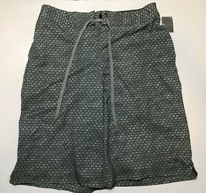 CHAMPION DUO DRYD SWIMSUIT FOR MEN GRAY SIZE 32 NWT POLYSTER BLEND