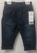 Boys Size 1 (18m) Blue Jeans Obaibi Okaidi New BNWT Winter