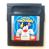 Looney Tunes Twouble Nintendo Game Boy Color Game Tested + Working!