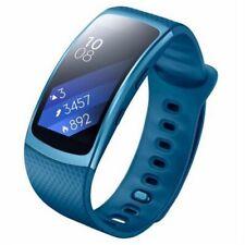 SAMSUNG Gear Fit 2 Orologio Smartwatch Smartband Sport R3600 Blu Taglia Large