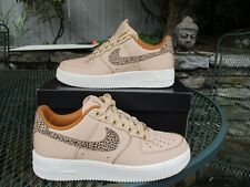 Size 9 Nike Air Force 1 Low Vachetta Premium Leather Tan White AR5431 222 AF1