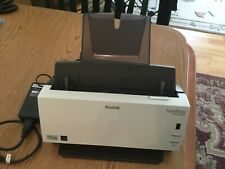 Kodak SCANMATE i1120 Color Scanner - TESTED, WORKING, POWER ADAPTER, paper guide