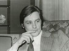 ALAIN DELON PORTRAIT 1975  VINTAGE PHOTO ORIGINAL #2