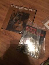 Jerry Silverman BEGINNING THE FOLK GUITAR Folkways LP Plus Book