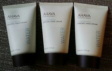 Ahava Deadsea Water Mineral Hand Cream 1.3X 3=3.9 oz Travel size great scent new