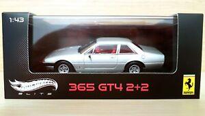 Ferrari 365 GT4 2+2 (1972) scala 1/43 Hot Wheels Elite Limited Edition