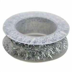 2m Metallic Foil Rattan Tinsel Garland Ribbon Garland Gold Silver Wire Supplies