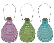 More details for esschert design hanging table top glass wasp fly trap 1x assorted