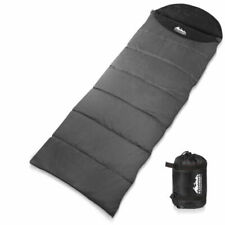 WEISSHORN Thermal Camping Single Sleeping Bag - Grey