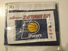 INDIANA PACERS FLAG 3'X5' NBA LOGO BANNER BRASS GROMMETS BRAND NEW SEALED