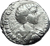 CARACALLA 196AD Rome Silver Authentic Ancient Roman Coin Minerva i60467