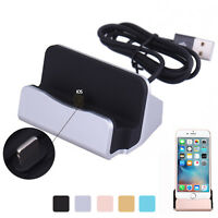 Desktop Charger Stand Docking Station Sync Dock Charge Cradle for iPhone 6 5s