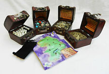 Wooden Pirate Treasure Chest, with Treasure, Map, Loot Bag - Party Goods / Gift