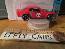 HOT WHEELS '70 Red TOYOTA CELICA HW City 2013 - Long Card - New!