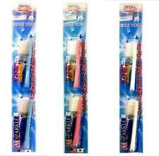 2X REPLACEMENT TOOTHBRUSH HEADS FOR SPARKLE IONIC TOOTHBRUSH WHITE REMOVE PLAQUE