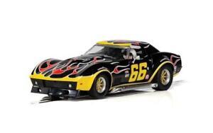 Scalextric  Chevrolet Corvette - No. 66 'Flames'. C4107