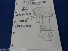1987, Ekt-11C Jkt-11C Omc Evinrude Johnson Parts Catalog
