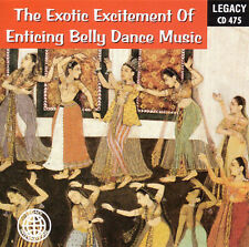 THE EXOTIC EXCITEMENT OF ENTICING BELLY DANCE MUSIC (bellydancing) CD [B14]