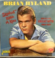 BRIAN HYLAND 'Sealed With a Kiss' - 2 CD Set on Jasmine