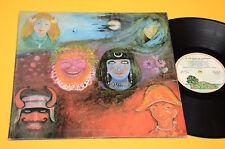 KING CRIMSON LP IN THE WAKE OF POSEIDON ORIG ITALY 1972 EX+ TOP AUDIOFILI