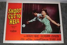 SHORT CUT TO HELL 11x14 YVETTE VICKERS original BAD GIRL 1957 lobby card poster