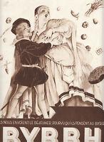 Publicité ancienne Byrrh 1933 issue de magazine