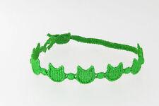 ORIGINALE ITALIANO FATTO CRUCIANI Bracciale devil-green